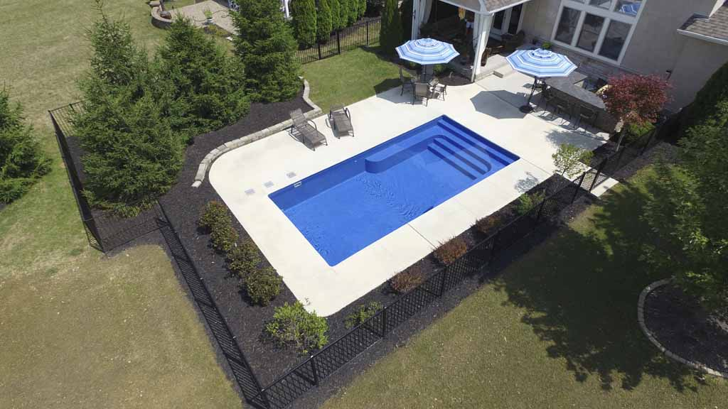 Fiberglass Swimming Pool Styles and Designs-Easy Living ...