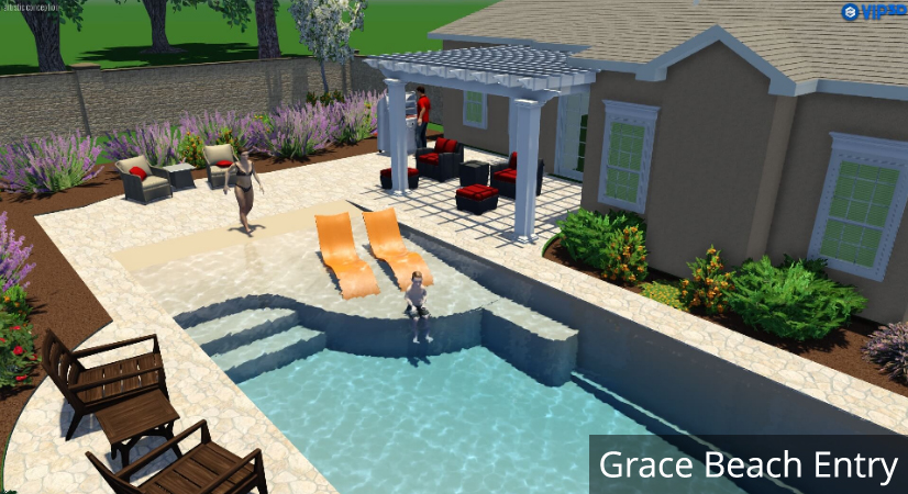 Easy living pools in ground swimming pool installers in ohio - Swimming pool contractors columbus ohio ...
