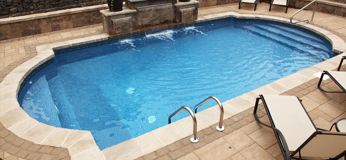 Easy living pools in ground swimming pool installers in ohio for Simple inground pool designs